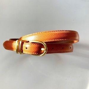COACH Vintage Genuine Leather Mandarin Tan Belt